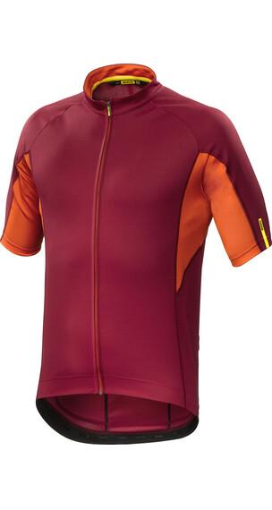 Mavic Aksium Jersey korte mouwen Heren oranje/rood